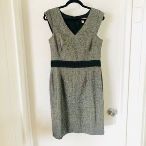 Banana Republic Gray Sheath Dress